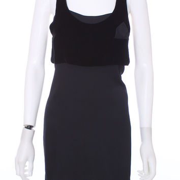 ALEXANDER WANG Little Black Silk Dress Size 0
