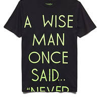 A Wise Man Tee