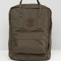 Fjallraven Re-Kanken Dark Olive Backpack at asos.com
