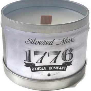 1776 Candle Company-Soy Scented Candle Silvered Moss