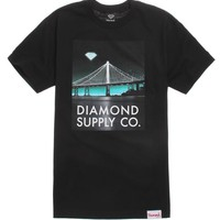 Diamond Supply Co Diamond Lit Bridge T-Shirt - Mens Tee