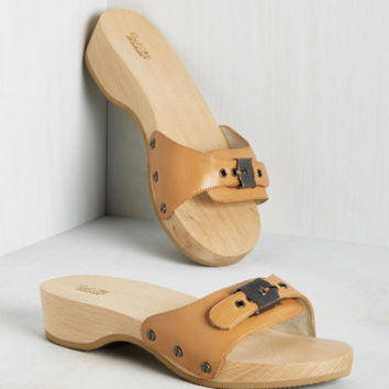 Maritime to Shine Sandal in Camel | Mod Retro Vintage Sandals | ModCloth.com