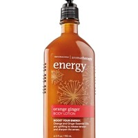 Energy - Orange Ginger Body Lotion   - Aromatherapy - Bath & Body Works