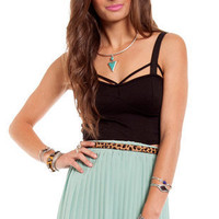 Stacey Cropped Bustier