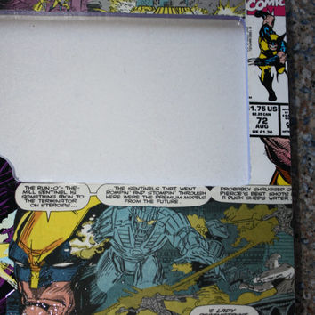 1993 Comic book desk/table wall Frame Featuring Wolverine frame 10 X 8 picture 4 X 6