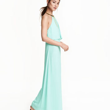 H&M Necklace-trim Halterneck Dress $69.99