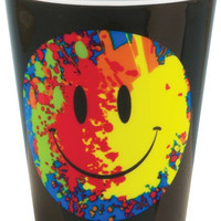 Smiley Face - Paint Splatter - Shot Glass