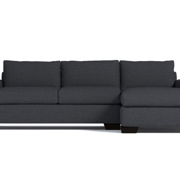 Melrose 2pc Sectional Sofa RAF in CHARCOAL - CLEARANCE