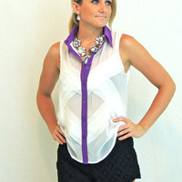 Own The Night Blouse -  $34.00 | Daily Chic Tops | International Shipping