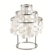 Pearl Table Lamp, Mother of Pearl