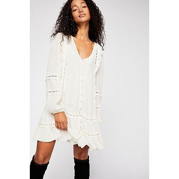 Women's Free People Snow Angel Mini Dress