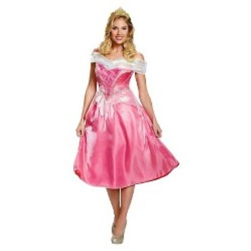 Women's Disney Princess Aurora Deluxe Adult Costume : Target