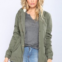 Lake Side Jacket - Olive