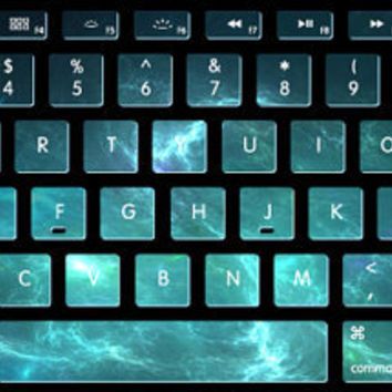 Nebula stickers  keyboard decal MacBook decal MacBook air sticker MacBook pro decal  J-013
