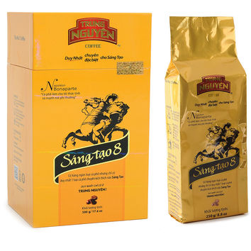 Trung Nguyen Legendee Gold - Creative 8 PREMIUM 500g / 250gr Vietnamese Ground Coffee