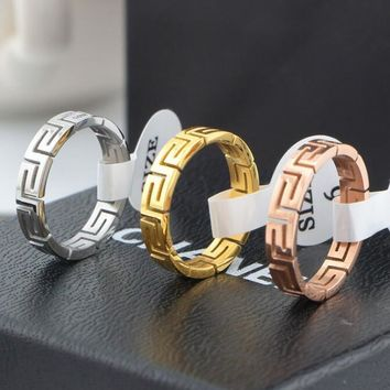 Givenchy Women Men Classic Simple Ring Couple Ring Jewelry Accessories