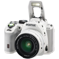 PENTAX 12073 20.0 Megapixel K-S2 18-50WR Digital SLR Camera (White)