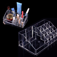High Quality Crystal Cosmetic Organizer Makeup Storage Organizer Box NVIE