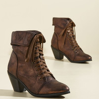 More Than What It Gleams Metallic Bootie | Mod Retro Vintage Boots | ModCloth.com