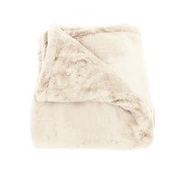 Oh So Soft Cream Queen-size Microfiber Blanket