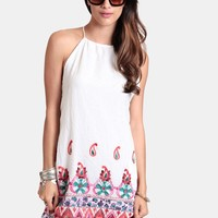 Meet Me At Sunset Embroidered Dress