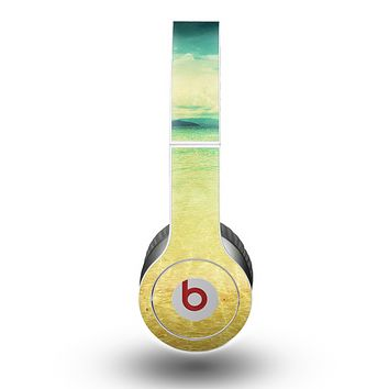 The Vintage Vibrant Beach Scene Skin for the Beats by Dre Original Solo-Solo HD Headphones