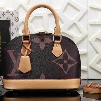 Louis Vuitton LV Women Fashion Leather Handbag Tote Satchel