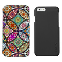 Floral mandalas creative circles art pattern iPhone 6/6s wallet case