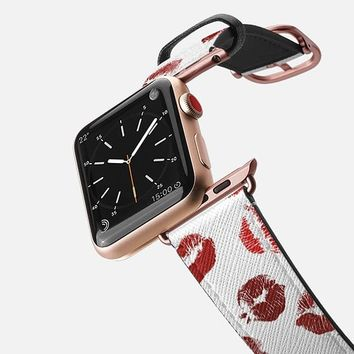 Casetify Apple Watch Band (38mm) - Smooches 2 by Allison Reich
