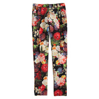 J.Crew Womens Dutch Floral Pant