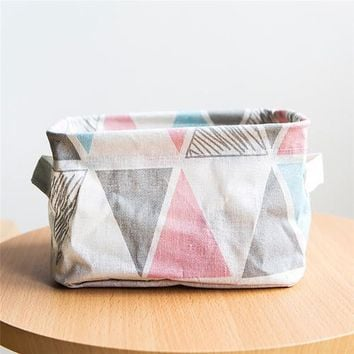 Foldable Storage Fabric Box Container