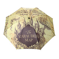 Harry Potter Marauder's Map Foldable Umbrella