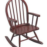 Windsor Childrens Rocking Chair Cherry