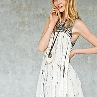 Free People Womens Aztec Bib Dress