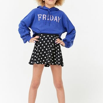Girls Chiffon Polka Dot Skirt (Kids)