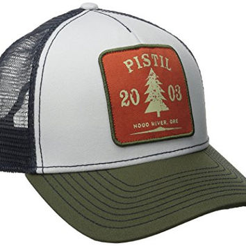 PISTIL Designs Men's Burnside Hat, Olive, One Size