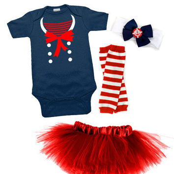 Nautical Darling Sailor Tutu Costume