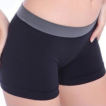 Scolour Women Shorts 2016 New Summer Female Casual Sports Gym Workout Waistband Skinny Slim Fit Shorts Pants Free Shipping