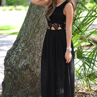 Be Original Maxi Dress: Black | Hope's