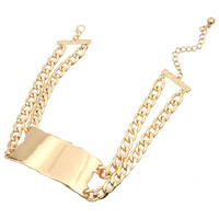 Smooth Rihanna ID 2 Chain Short Necklace