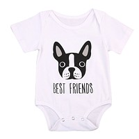 'Best Friends' Puppy Onesuit