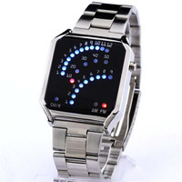 Boys Digital Watches Best Gift Mens Casual Alloy Strap Watch
