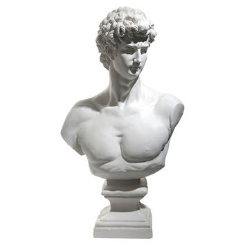 """One Kings Lane - Do Up Your Den - 23"""" Male Bust"""