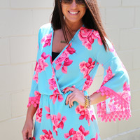 Floral Fixated Romper