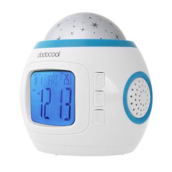 Desktop Table Clocks Despertador Music Starry Star Sky Projection Alarm Clock Calendar Thermometer For Best Gift Relogio De Mesa