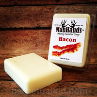 MANHANDS BACON SCENTED SOAP