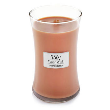Pumpkin Butter : Large Hourglass Candles : WoodWick