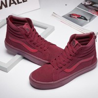 Vans SK8-Hi Reissue Zip wtaps Skateboarding Shoes 36-44