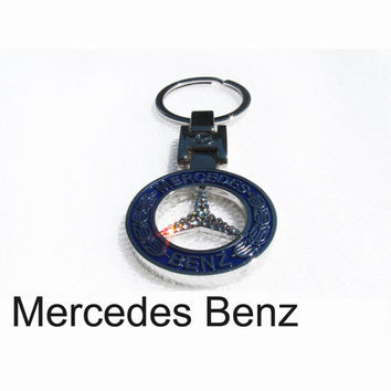 Car crystal keychain mercedes benz from lavostradolcevita for Mercedes benz keychain