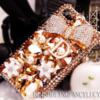 iphone 4s cover iphone 4s case flower iphone 4s case bling iphone 4s case crystal bow iphone case best iphone case flower iphone case cover